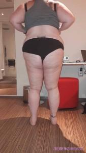 Butt before liposuction Aug 23 2016